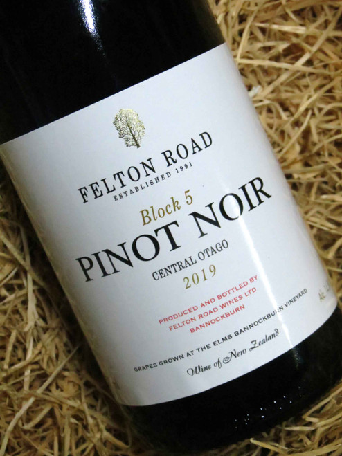 [SOLD-OUT] Felton Road Block 5 Pinot Noir 2019