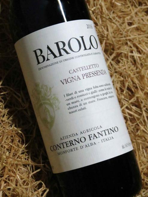 Conterno Fantino Barolo Castelletto 2016