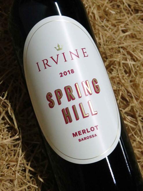 Irvine Springhill Merlot 2018