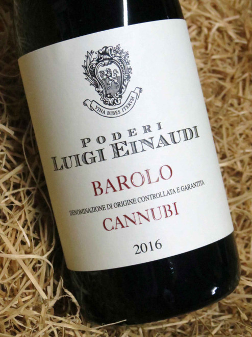 Einaudi Barolo Cannubi DOCG 2016