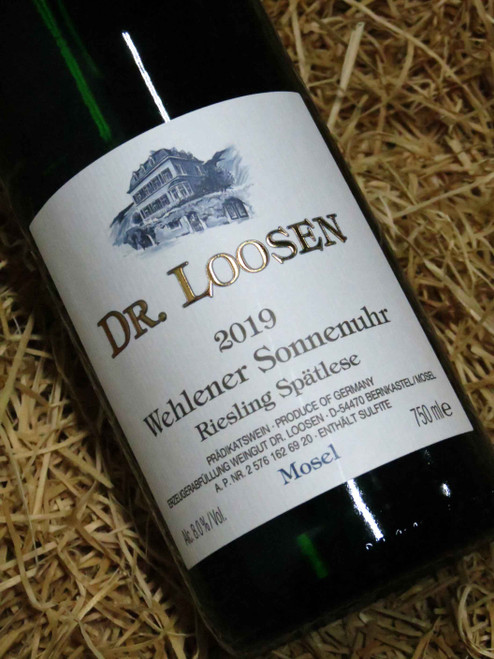 [SOLD-OUT] Dr Loosen Wehlener Sonnenuhr Riesling Spatlese 2019