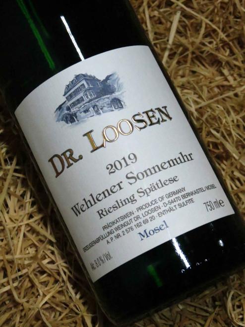 Dr Loosen Wehlener Sonnenuhr Riesling Spatlese 2019