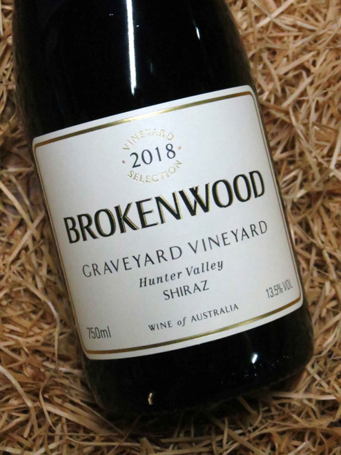 [SOLD-OUT] Brokenwood Graveyard Shiraz 2018
