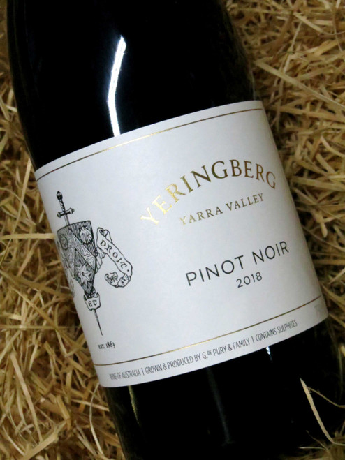 Yeringberg Pinot Noir 2018