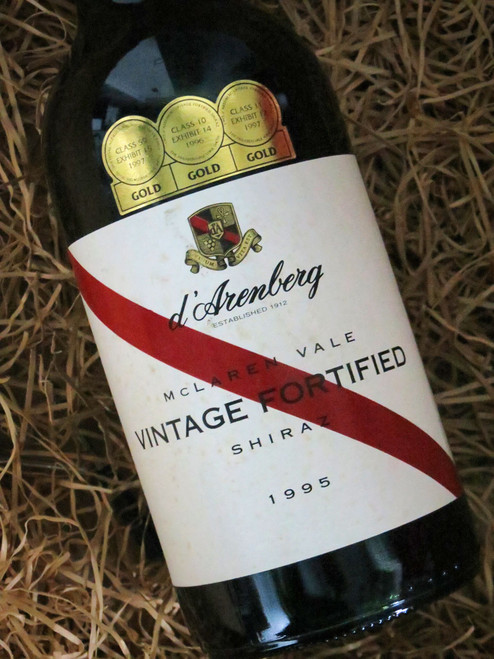 [SOLD-OUT] d'Arenberg Fortified Shiraz 1995 (Damaged Label)