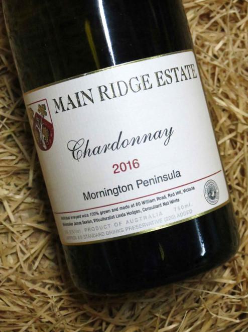 Main Ridge Chardonnay 2016 Museum Release