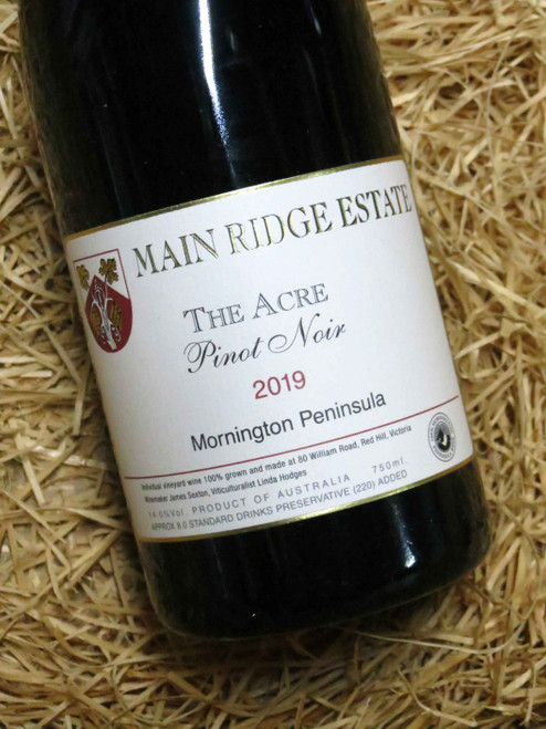 Main Ridge The Acre Pinot Noir 2019