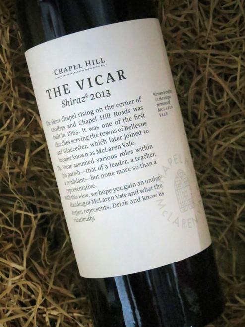 Chapel Hill The Vicar 2013