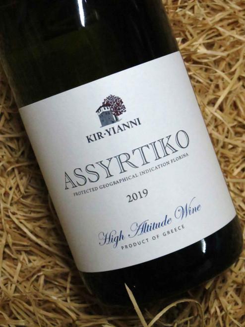 Kir-Yianni Assyrtiko Amyndeon PGI 2019