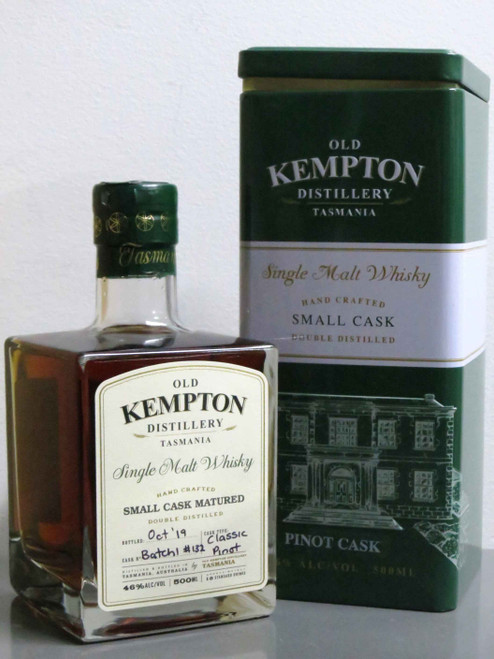 Old Kempton Pinot Cask Whisky 46% 500mL
