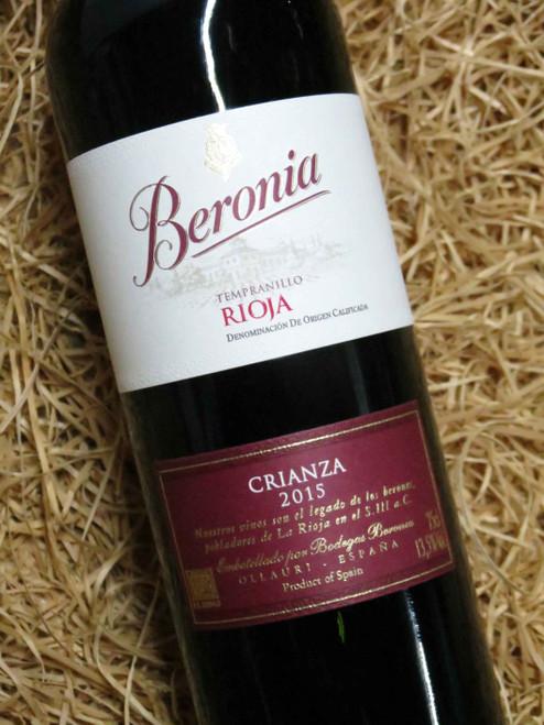 Beronia Crianza Rioja 2015