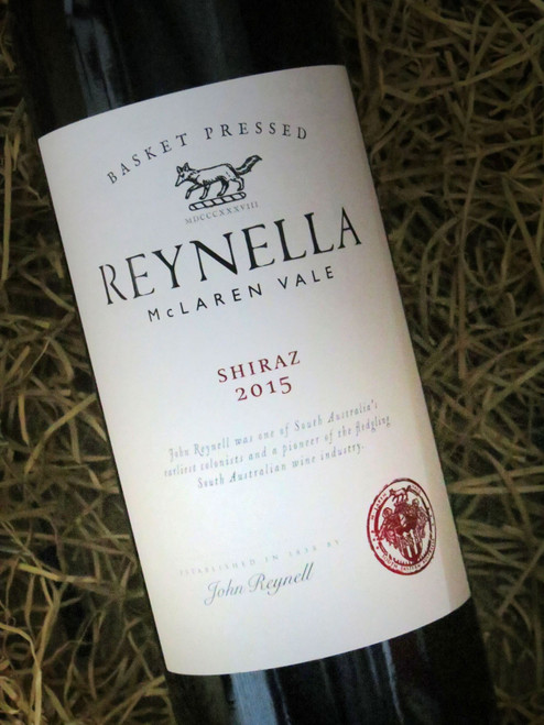 [SOLD-OUT] Chateau Reynella Basket Press Shiraz 2015