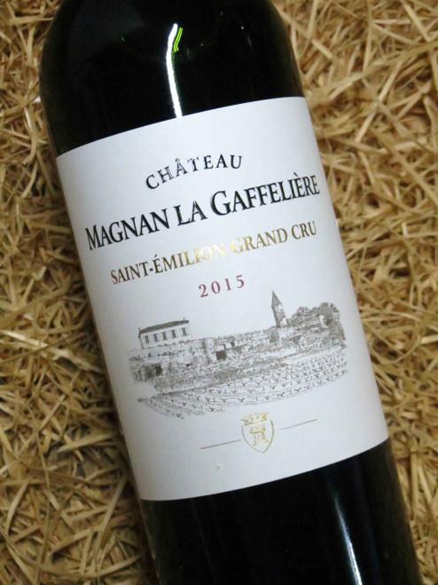Chateau Magnan Gaffeliere St Emilion Grand Cru 2015