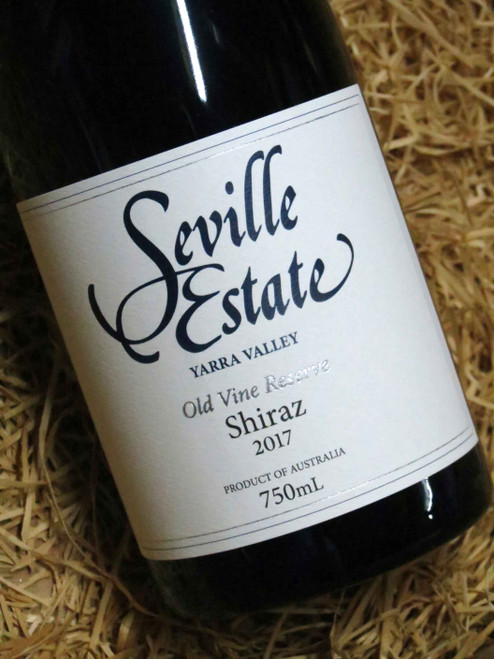 Seville Estate Reserve Old Vine Shiraz 2017