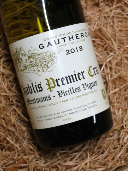Dom Gautheron Premier Cru Chablis Montmains 2018