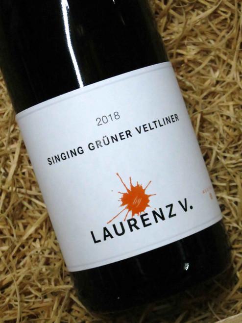 Laurenz V Singing Gruner Veltliner 2018