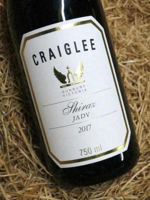 Craiglee Shiraz 'JADV' 2017