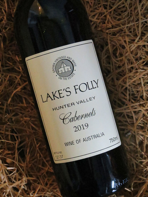 Lake's Folly White Label Cabernets 2019