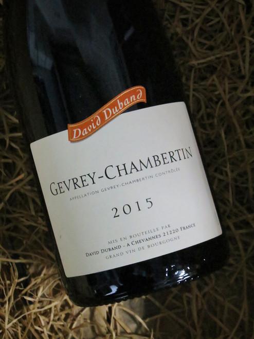 David Duband Gevrey-Chambertin 2015