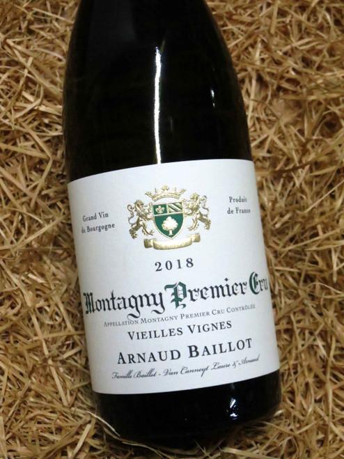 Arnaud Baillot Montagny Premier Cru Cru Vieilles Vignes 2018