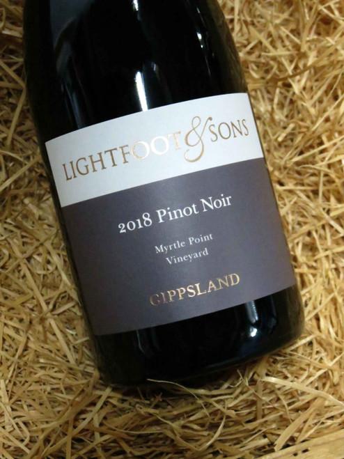 Lightfoot & Sons Myrtle Point Pinot Noir 2018