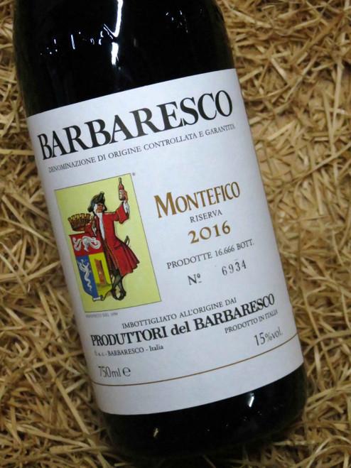 [SOLD-OUT] Produttori del Barbaresco Montefico Riserva 2016