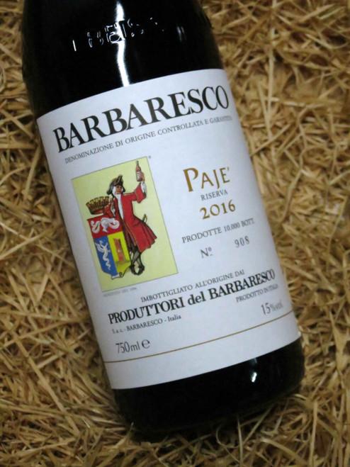 [SOLD-OUT] Produttori del Barbaresco Paje Riserva 2016