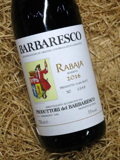 [SOLD-OUT] Produttori del Barbaresco Rabaja' Riserva 2016