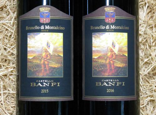 Banfi Brunello di Montalcino Twin Pack