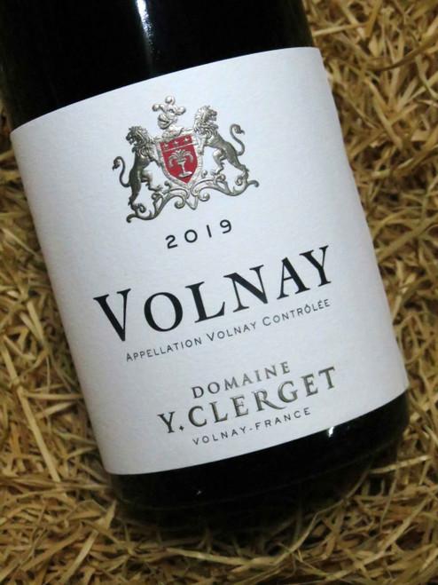 Yvon Clerget Volnay 2019