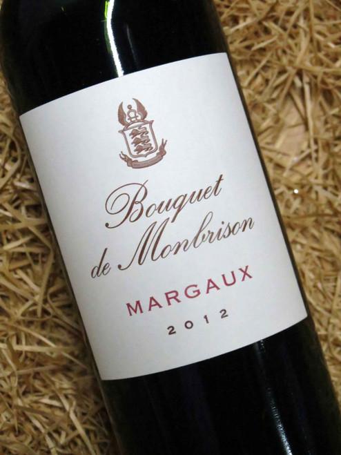 Bouquet de Monbrison Margaux 2012