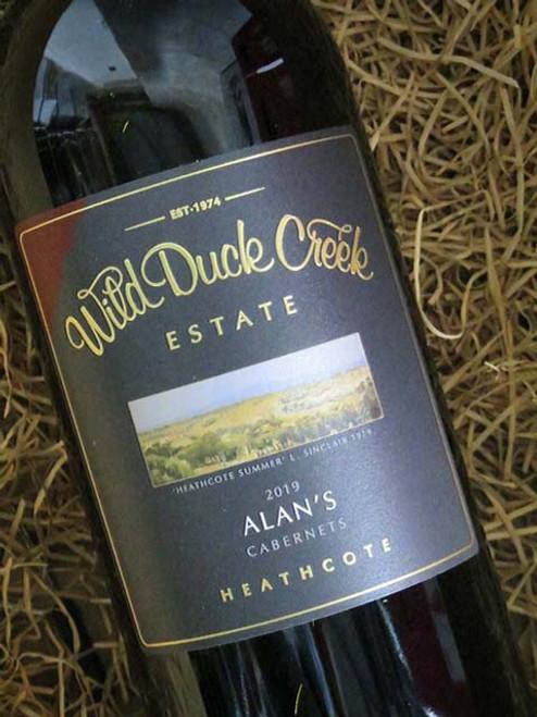 Wild Duck Creek Alan's Cabernet Sauvignon 2019 1500mL-Magnum