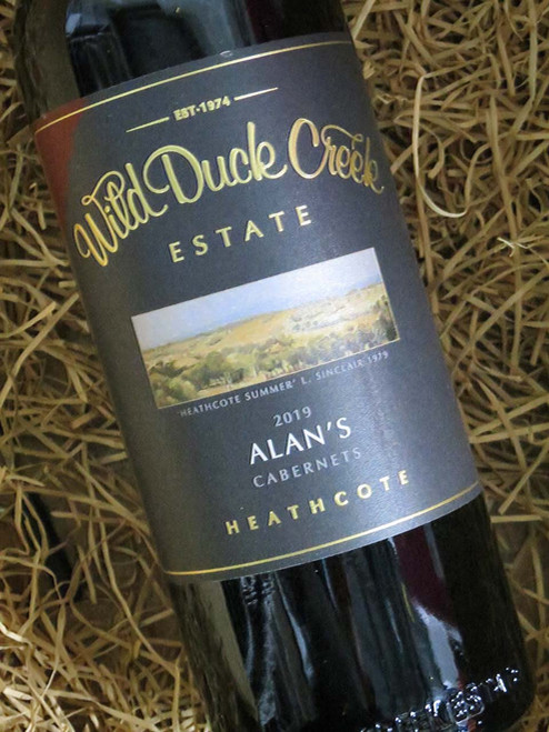 Wild Duck Creek Alan's Cabernet Sauvignon 2019