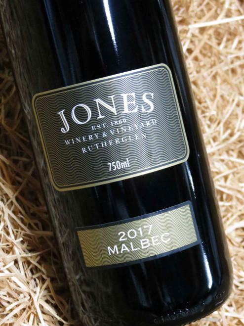 Jones Winery Malbec 2017