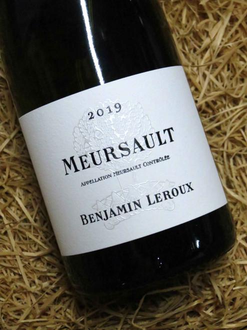 Benjamin Leroux Meursault 2019