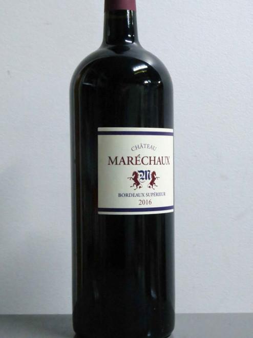 Chateau Marechaux Bordeaux Superieur 2016 1500mL-Magnum
