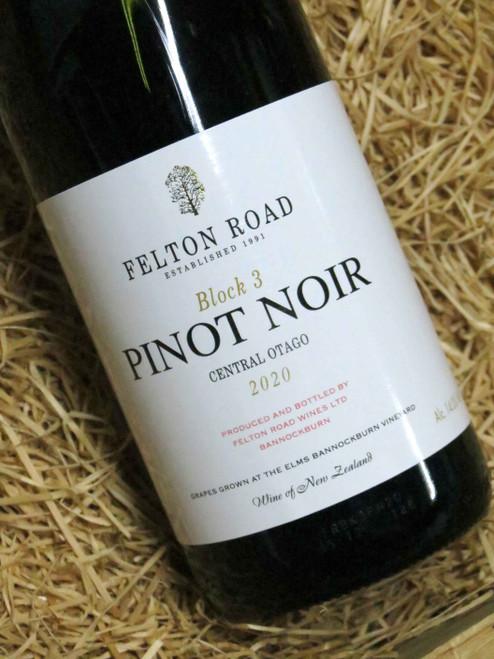 [SOLD-OUT] Felton Road Block 3 Pinot Noir 2020