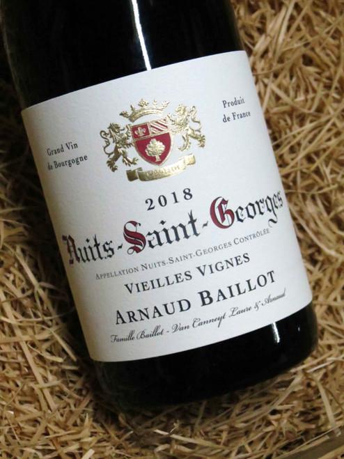 Arnaud Baillot Nuits-St-Georges Vieilles Vignes 2018