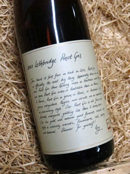 Lethbridge Pinot Gris 2021