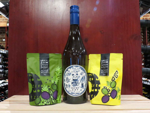 Gourmet Wine & Olives Gift