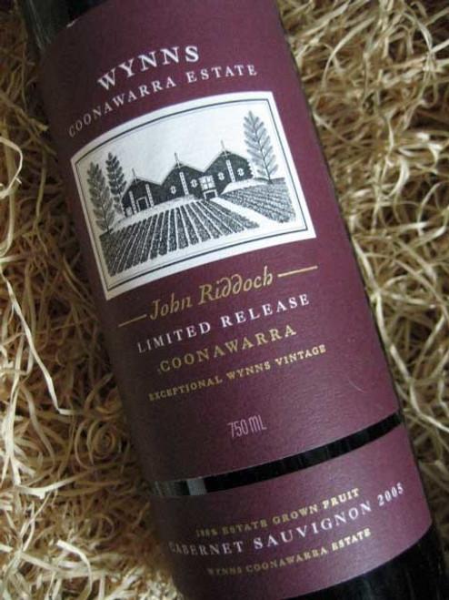 Wynns John Riddoch Cabernet Sauvignon 2005