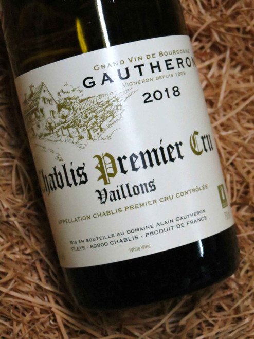 Dom Gautheron Premier Cru Chablis Vaillons 2018