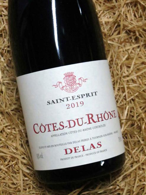 Delas Cotes du Rhone Saint-Esprit Rouge 2019