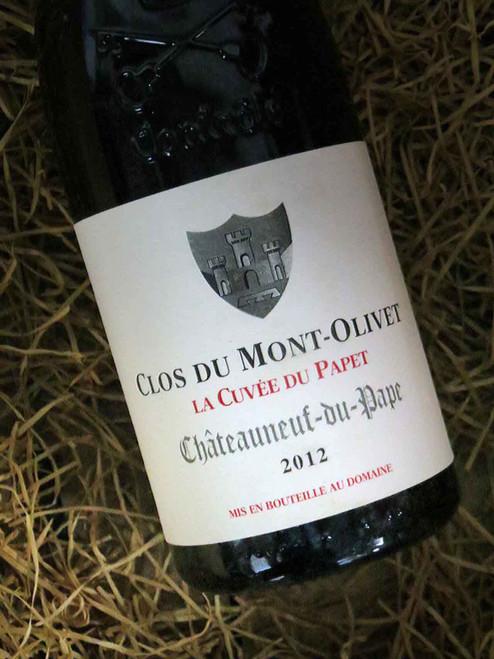 Clos du Mont-Olivet Chateauneuf-du-Pape Cuvee Papet 2012