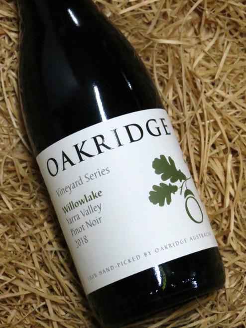 Oakridge Local Vineyard Series Willowlake Pinot Noir 2018 375mL-Half-Bottle