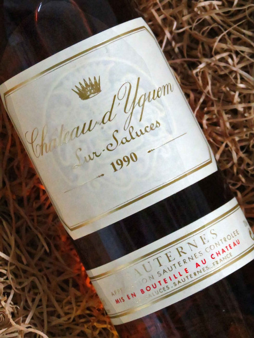 [SOLD-OUT] Chateau d`Yquem Sauternes 1990