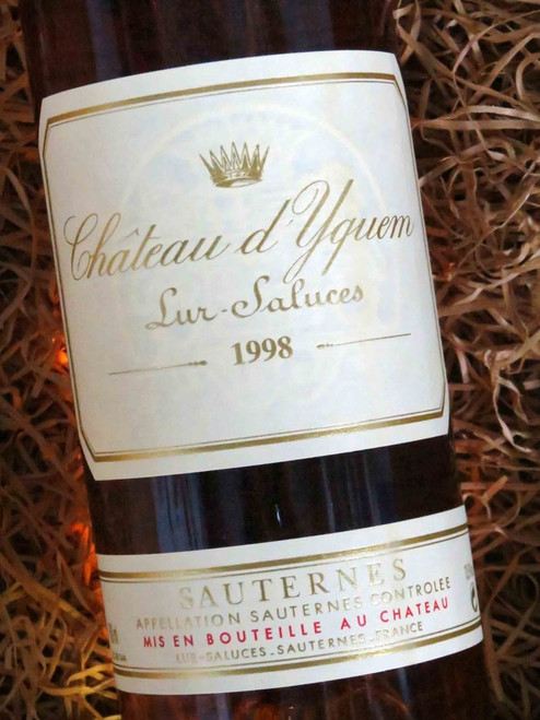 [SOLD-OUT] Chateau d`Yquem Sauternes 1998