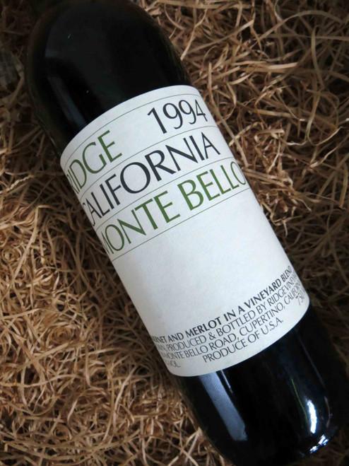 [SOLD-OUT] Ridge Monte Bello 1994