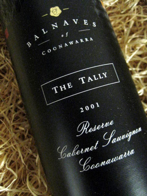 [SOLD-OUT] Balnaves The Tally Reserve Cabernet 2001
