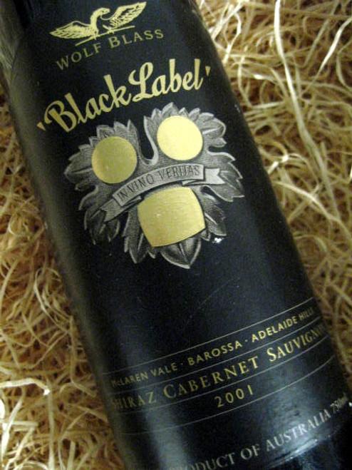 Wolf Blass Black Label 2001